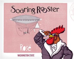 Soaring Rooster Rose Cans LARGE
